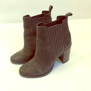 All saints leather booties
